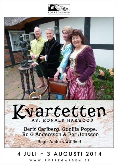 Kvartetten Poppegården 2014