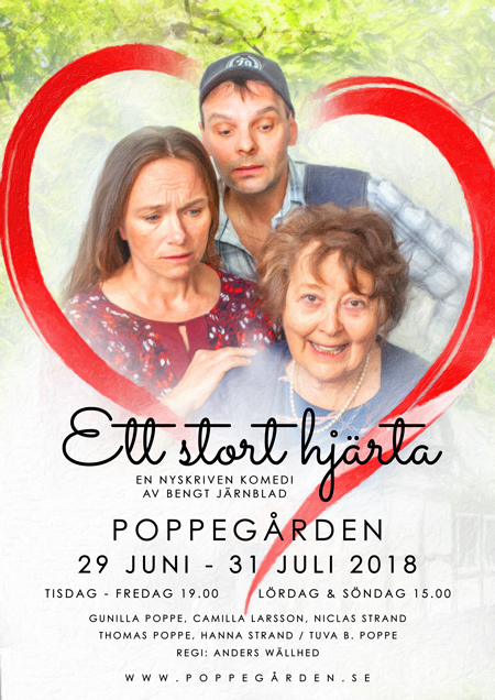 Ett stort hjärta | Poppegården 2018