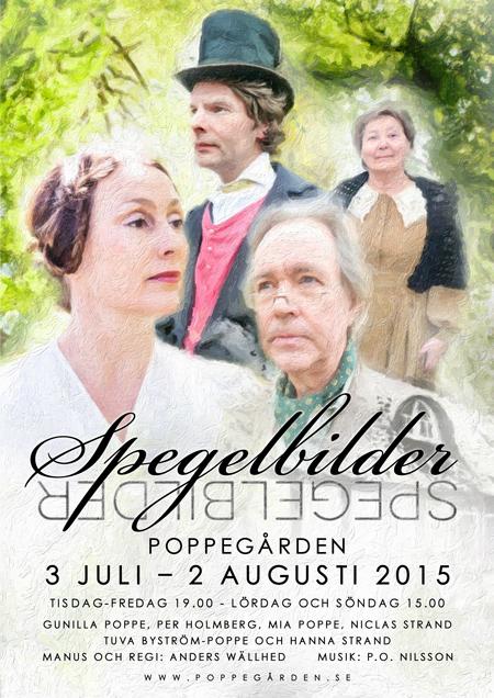 Spegelbilder | Poppegården 2015