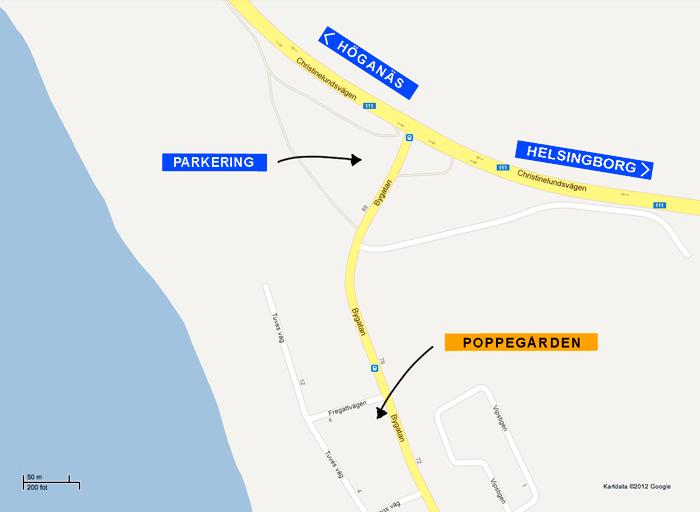 Karta Poppegården
