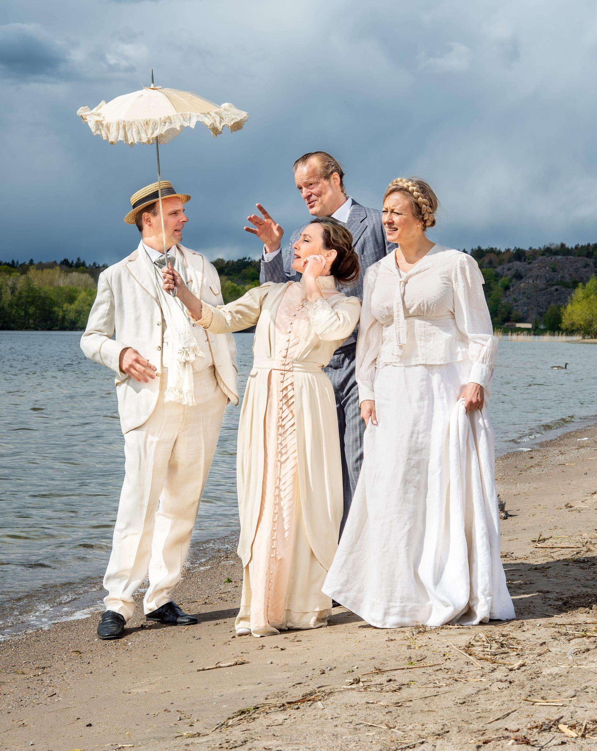"""August Strindbergs """"Leka med elden"""" - Poppegården 2021"""